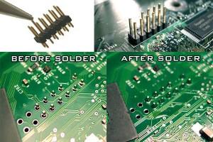 xbox motherboard header solder