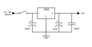 Phone Charging Circuit 7805