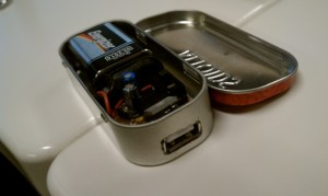 Charging Curcuit fit into Altoids Case